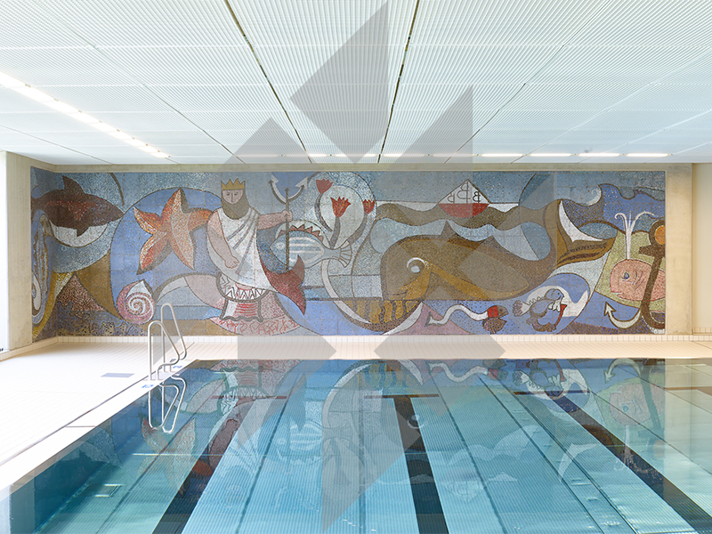 Indoor swimming pool, Dresden